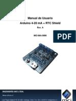 Adaptador de señales de Corriente 4-20mA