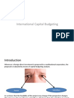 international capilat budgeting
