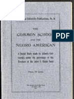 W.E.B. Du Bois--The Common School and the Negro American (1911)