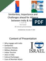 India Israel Friendship PPT by Satyadhar
