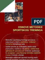 Osnove metodike sportskog treninga