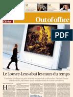Le Louvre-Lens abat les murs du temps