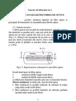 Tipurile Si Parametrii Fibrelor Optice