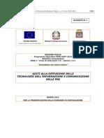 Bando Regione Puglia - Aiuti alla diffusione delle Tecnologie dell'Informazione e Comunicazione nelle PMI (2011)