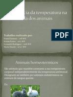 Temperatura e Animais-marta,Daniel, Karina,Leonardo