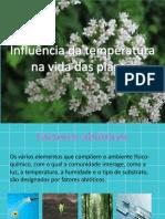 Influencia Da Temperatura Nha Vida Das Plantas (2)-Daniela, Francisc, Camila, Mauro