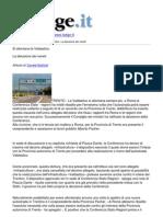 l039adige - Si Allontana La Valdastico La Delusione Dei Veneti - 2012-12-08