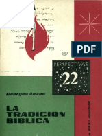 Auzou, Georges - La Tradicion Biblica