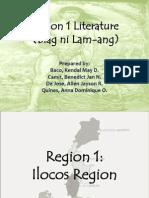 Region 1 Literature (Biag ni Lam-ang)