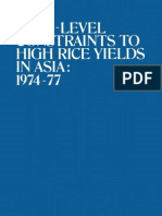 IRRI - Constraints to High Rice Yield