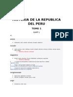 Historia de La Republica Del Peru Ahora