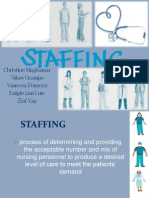 Staffing Nursing Management Report