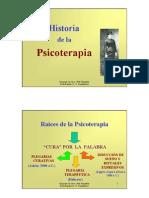 01.a Historia de La Psicoterapia Hasta Fines XIX