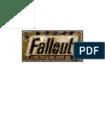 Jason Mical - Fallout RPG