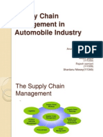 Project_111312_SCM in Automobile Industry