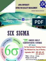 Anna Univ Six Sigma