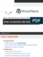 Tutoriel premier site web