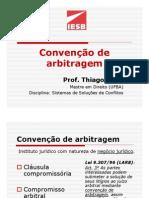 Aula_IESB_SSC_Convençao_de_arbitragem_PDF