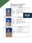 Daftar Guru Dan Pegawai (Foto)