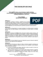 Reglamento Elecciones Ps 2012