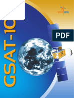 Gsat 10 Brochure
