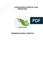Mexico Plan Estrategico Forestal 2025