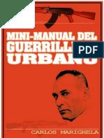 Minimanual Del Guerrillero Urbano (1969) Carlos Marighuela
