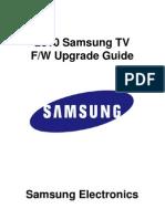 2010 Firmware Upgrade Instruction for LCD TV T-SAT4AUSHC
