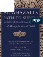 Al Ghazali's Path to Sufism - Deliverance From Error - Al Munqidh Min Al Dalal