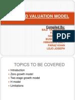 Dividend Valuation Model Ppt (1)