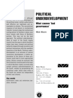 Moore 2001 Political Underdevelopment