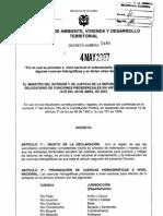 DECRETO 1480 2007