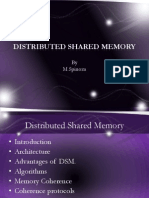 Distributed Shared Memory for Advanced Os