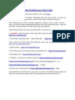 Situs Penyedia Buku Kedokteran Gigi Gratis
