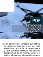 Estado de Situacion Financiera