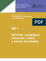 Educacion Cultura Nuevas Tecnologias