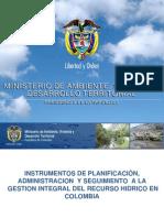 INSTRUMENTOS DE PLANIFICACIÓN, ADMINISTRACION Y SEGUIMIENTO A LA