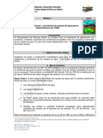 Identificación, clasificación y priorización de cuerpos de agua para la