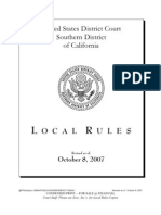 Robert's Justice, US Courts - Rules of Court