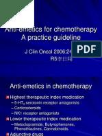 Anti-Emetics for Chemotherapy