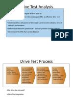 WCDMA Drive Test Analysis