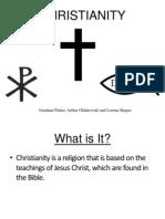 Christianity  - lorena, arthur, jonathan