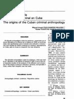 Huertas, R. Los Origenes de La Antropologia Criminal en Cuba 2