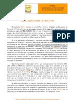 2012-11-28 Comunicado sobre la exigencia de la paga extra