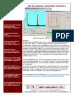 T1E1 JitterMeasurement PulseMask Brochure