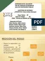Metodos de Medicion de Riesgos, Presentacion (1)