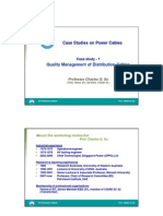 Case Studies on Power Cables