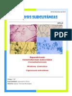 Micosis Subcutaneas