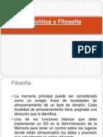 3.1 Política y Filosofía-3.2 Memoria Real