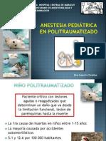 Anestesia en Niño Politraumatizado